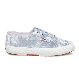 NIB // Superga 2750 Velvet Sneakers